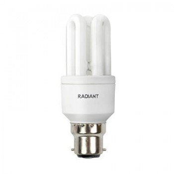 Fluorescent Cfl 3u Mini B22 20w Cool White