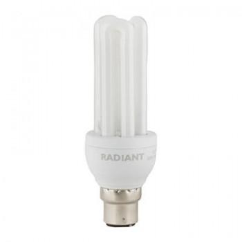 Fluorescent Cfl 3u Mini B22 15w Cool White