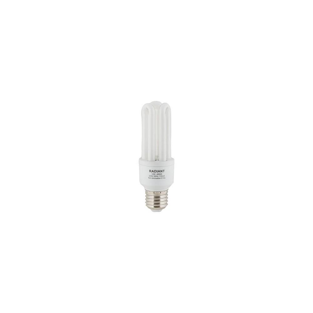 Fluorescent Cfl 3u Mini E27 15w Cool White