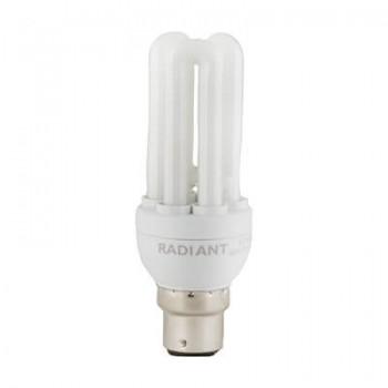 Fluorescent Cfl 3u Mini B22 11w Cool White
