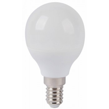 Led Golf Ball E14 6w 5000k Frosted