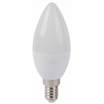 Led Candle E14 6w 5000k Frosted