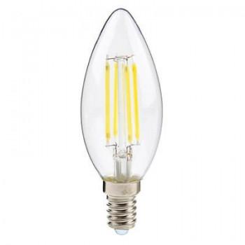 Led Candle Clear Filament E14 4w 3000k