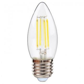 Led Candle Clear Filament E27 4w 3000k