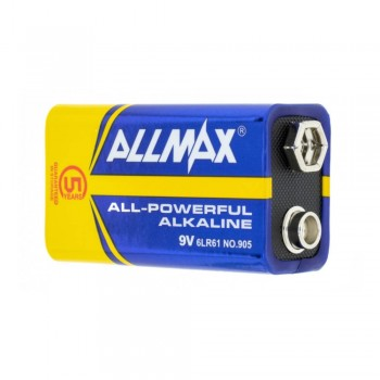 Allmax Batteries 9v