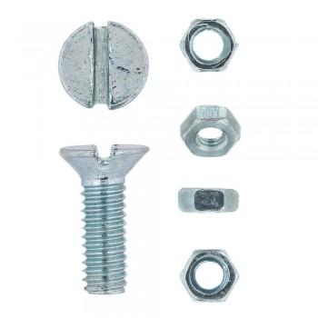 Eureka Machine Screw & Nut 4x12mm Quantity:20