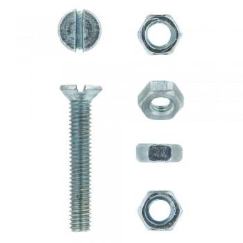 Eureka Machine Screw & Nut 4x25mm Quantity:20