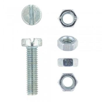 Eureka Machine Screw & Nut 5x20mm Quantity:12