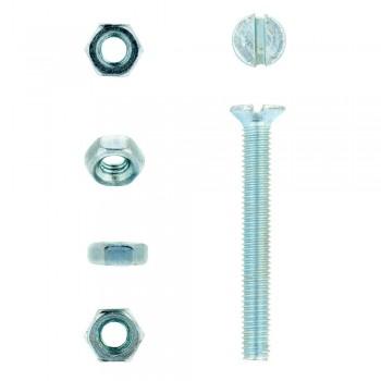 Eureka Machine Screw & Nut 3x25mm Quantity:20