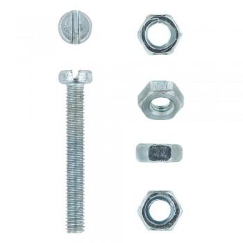 Eureka Machine Screw & Nut 4x30mm Quantity:15