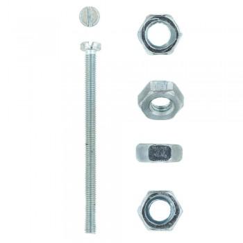 Eureka Machine Screw & Nut 4x60mm Quantity:10