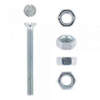 Eureka Machine Screw & Nut 5x50mm Quantity:10