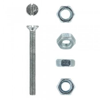 Eureka Machine Screw & Nut 4x40mm Quantity:12