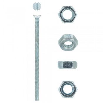 Eureka Machine Screw & Nut 4x75mm Quantity:8