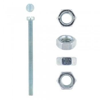 Eureka Machine Screw & Nut 5x75mm Quantity:5