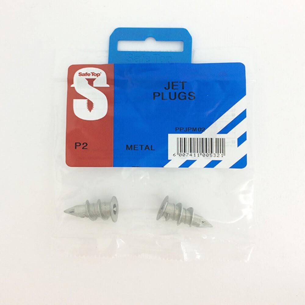 Pre Pack Jet Plugs Metal Quantity:2