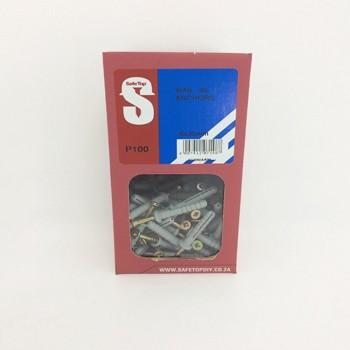 Svb Nail In Anchor 6mm X 35mm Quantity:100