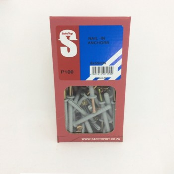 Svb Nail In Anchor 6mm X 55mm Quantity:100