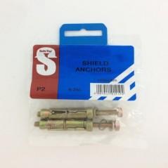 Pre Pack Shield Anchors 6-25l Quantity:2