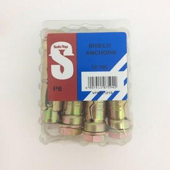 Value Pack Shield Anchors 12-10l Quantity:8