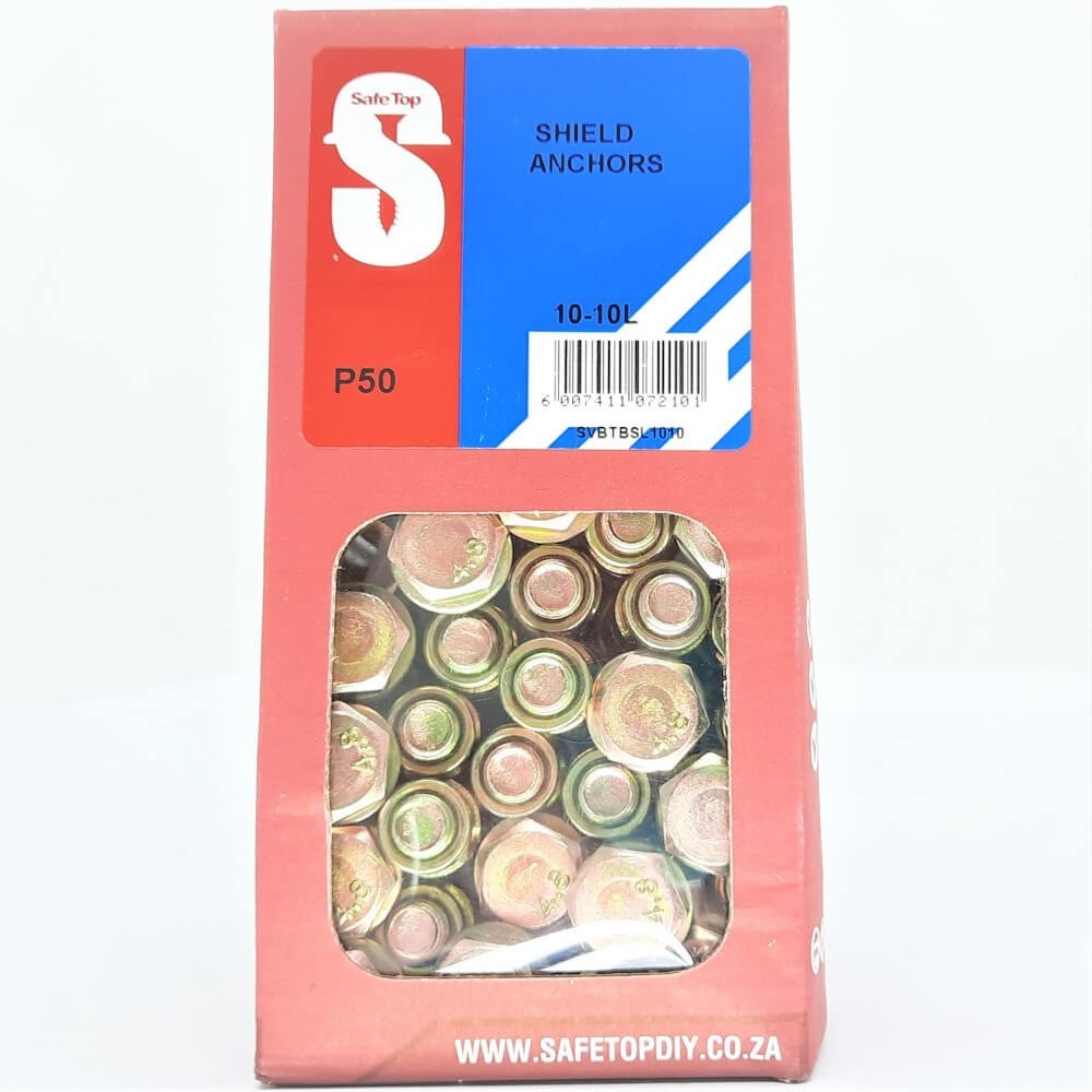Svb Shield Anchors 10-10l Quantity:50