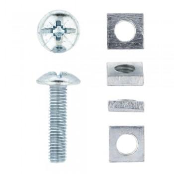Eureka Gutter Bolt & Nut 6x25mm Quantity:8