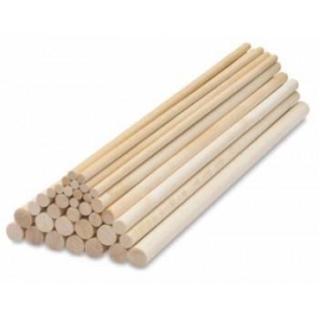 Wood Dowel Stick 8mm X 900 Mm