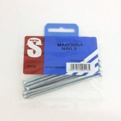 Pre Pack Masonry Nails Zp 4.0mm X 100mm Quantity:10