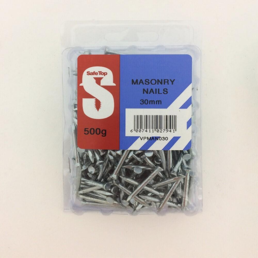 Value Pack Masonry Nails Zp 3.0mm X 30mm Quantity:500g