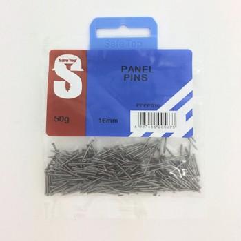 Pre Pack Panel Pins 16mm Quantity:50g