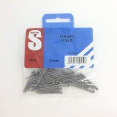 Pre Pack Panel Pins 32mm Quantity:50g