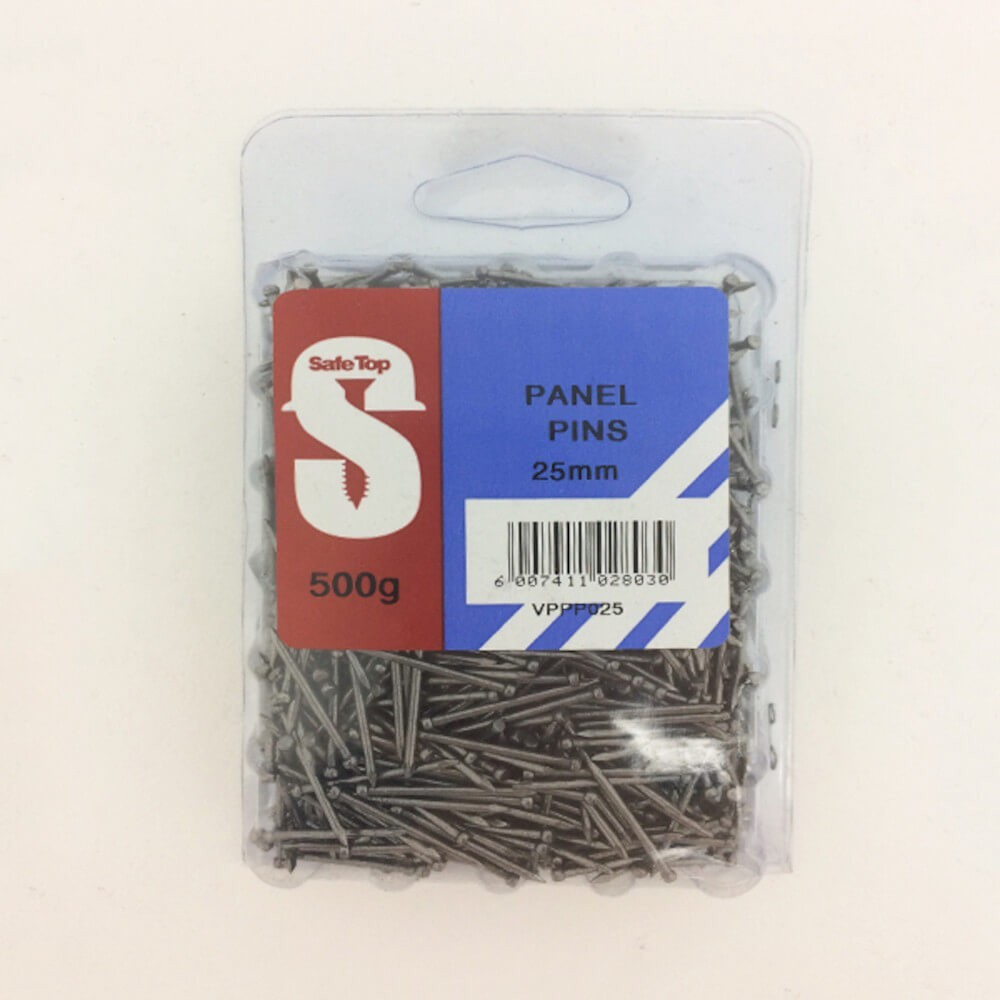 Value Pack Panel Pins 25mm Quantity:500g