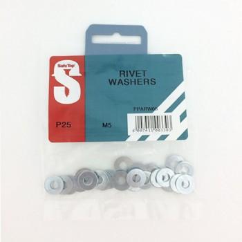 Pre Pack Rivet Washers M5 Quantity:25