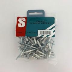 Value Pack Large Flange Rivets 4.8mm X 15mm Quantity:50