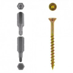 Eureka Cut-screw™ 4.0x50mm Quantity:60