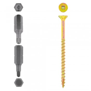Eureka Cut-screw™ 5.0x75mm Quantity:125