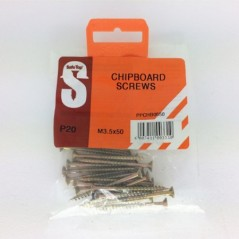 Pre Pack Chipboard Screws M3.5 X 50mm Quantity:20