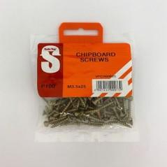 Value Pack Chipboard Screws M3.5 X 25mm Quantity:100