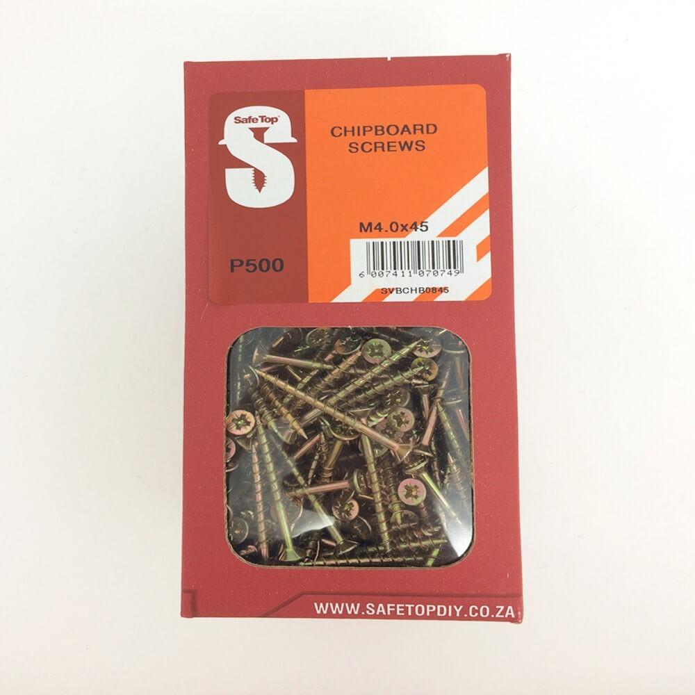 Svb Chipboard Screws M4.0 X 45mm Quantity:500