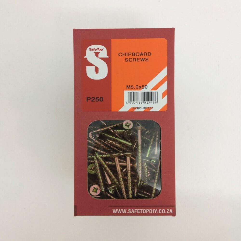 Svb Chipboard Screws M5.0 X 50mm Quantity:250