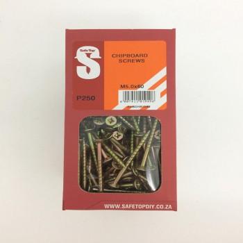 Svb Chipboard Screws M5.0 X 60mm Quantity:250
