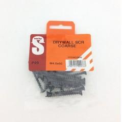 Pre Pack Drywall Screws Course M4.0 X 50mm Quantity:20