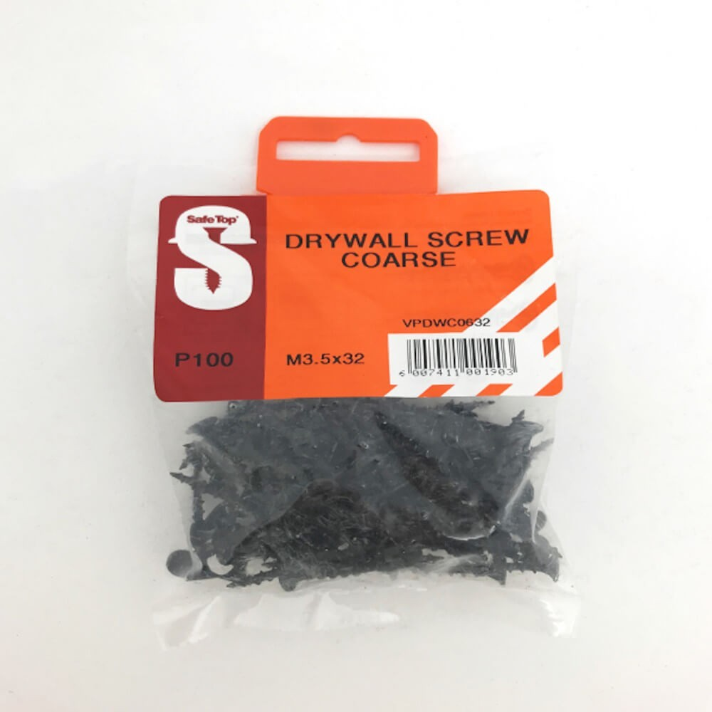 Value Pack Drywall Screws Course M3.5 X 32 Mm Quantity:100
