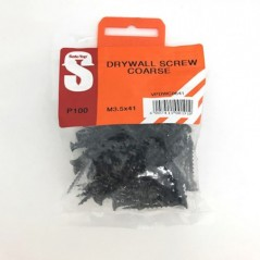 Value Pack Drywall Screws Course M3.5 X 41mm Quantity:100