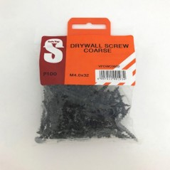 Value Pack Drywall Screws Course M4.0 X 32mm Quantity:100
