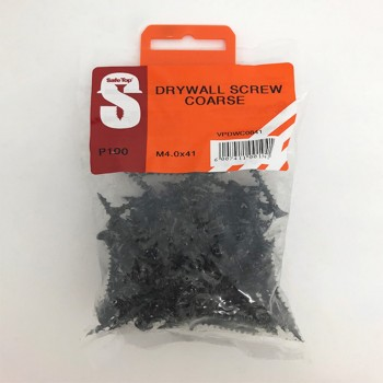Value Pack Drywall Screws Course M4.0 X 41mm Quantity:100