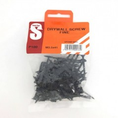 Value Pack Drywall Screws Fine M3.5 X 41mm Quantity:100