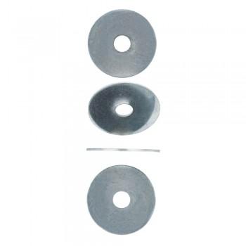 Eureka Washer Large Zinc Plated 10x45x15mm Quantity:4