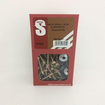 Svb Self D Screws & Banded W M5.5 X 40mm Quantity:200