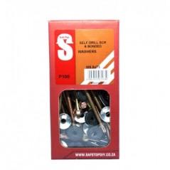 Svb Self D Screws & Banded W M5.5 X 75mm Quantity:100